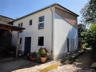 Ansicht Eingang:  Einfamilienhaus von Planquadrat-Architekten PartG mbB