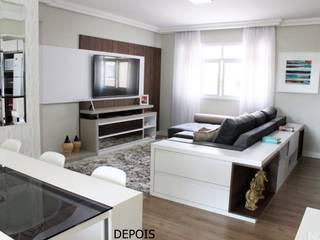 Sala integrada Salas de estar modernas por INOVAT Arquitetura e interiores Moderno