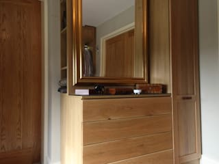 Wallingford - Oak Dressing Room Vestidores rurales de cu_cucine Rural