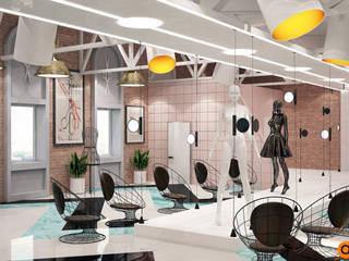 Artichok Design Offices & stores Pink
