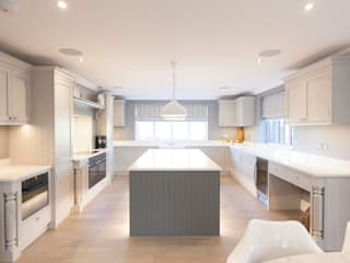 Seer Green - In-Frame Kitchen Cocinas rurales de cu_cucine Rural