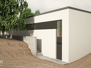 Moderne Häuser von CINOUT - Obras, Design e Manutenção Lda. Modern