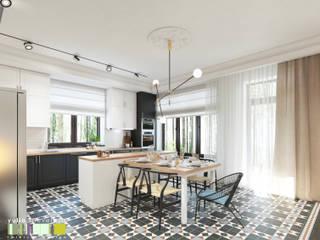 Classic style kitchen by Мастерская интерьера Юлии Шевелевой Classic