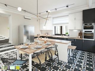 Kitchen by Мастерская интерьера Юлии Шевелевой, Classic
