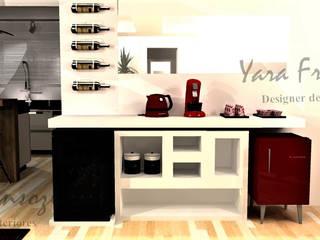 Área de café: Adegas  por Yara Interiores