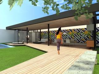 Abri de jardin de style  par ODVO Arquitetura e Urbanismo, Moderne