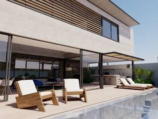 Residência SAA: Piscinas  por MSPM Arquitetura & Design,Moderno