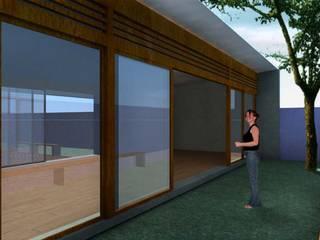 Fenêtres en bois de style  par ODVO Arquitetura e Urbanismo, Moderne