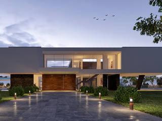 CASA MS1 - Moradia no Belas Clube de Campo - Projeto de Arquitetura: Moradias  por Traçado Regulador. Lda,Moderno