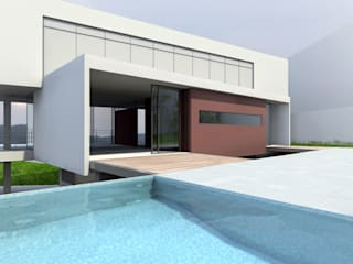 Piscines  de style  par ODVO Arquitetura e Urbanismo, Moderne