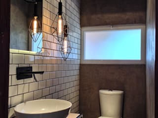 Baño 19-S: Baños de estilo  por anarqhy anti - diseño