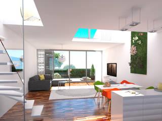 Gartenhäuser Berliner Straße, Köln Cramer Architektur Design (CAD) WohnzimmerCouch- und Beistelltische
