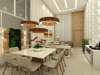 Salle à manger moderne par Juliana Azanha | Arquitetura e Interiores Moderne