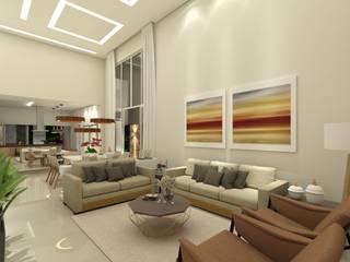 Salon moderne par Juliana Azanha | Arquitetura e Interiores Moderne