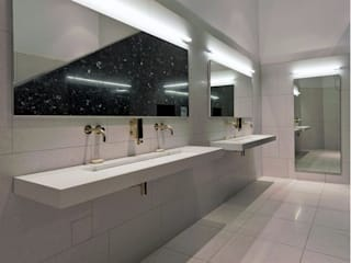Case Study: V&A Museum, London Minimalist style bathroom by BathroomsByDesign Retail Ltd Minimalist