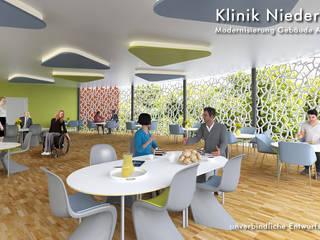Cafeterria Klinik Niederrhein Cramer Architektur Design (CAD) Geschäftsräume & Stores
