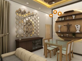 Interiors:  Dining room by Creative Focus