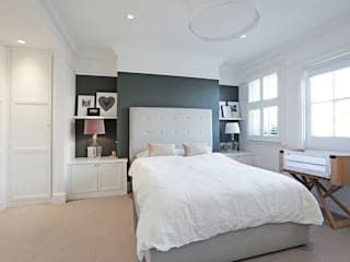 Edwardian meets contemporary; Teddington Family Home: modern Bedroom by PAD ARCHITECTS