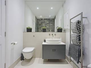 Edwardian meets contemporary; Teddington Family Home PAD ARCHITECTS Modern bathroom