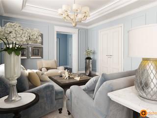 Artichok Design Living room Blue