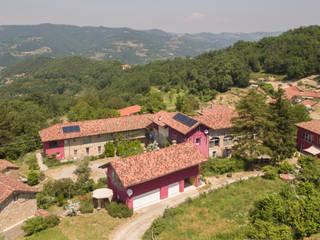 Cascine Crema da drone (fotografia aerea) Andrea Chiesa è Progetto Immagine Casa di campagna