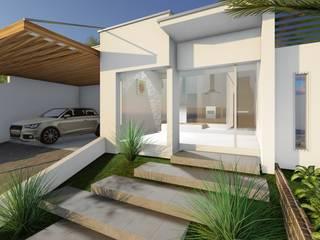 Houses by Pedro Aguiar Arquitetura + Obra, Modern