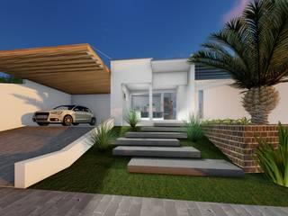 Дома в . Автор – Pedro Aguiar Arquitetura + Obra, Модерн