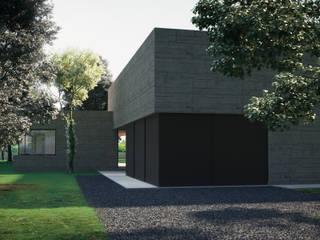 Garage Doors by ASVS Arquitectos Associados, Modern