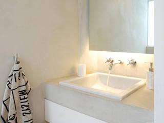 Lavabo Baños de estilo minimalista de AWA arquitectos Minimalista Mármol