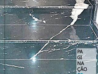 PAGINAÇÃO EM GRANITO Arte Pedras Marmoraria Escadas Granito Preto
