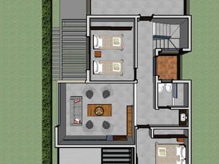 Planta baja: Casas de estilo  por PIC Arquitectura