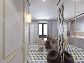 Moderner Flur, Diele & Treppenhaus von Студия дизайна и визуализации интерьеров Ивановой Натальи. Modern