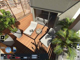 Aida tropeano& Asociados Modern Garden Wood Wood effect