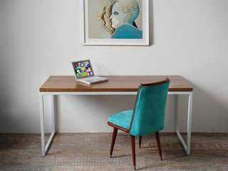 Escritorios Minimalistas modernos y simples para tu hogar :  de estilo  por Tienda Quadrat