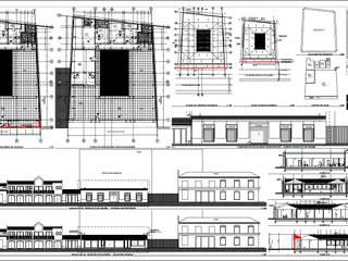 Planos :  de estilo  por Área Urbana Arquitectos SpA