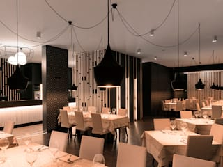 Dal Capitano Fish Lab Restaurant tIPS ARCHITECTS Negozi & Locali Commerciali