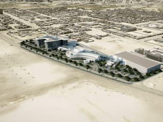 Al Shiekh Kalefa Center Hospital - Al Jumeirah, UAE by SPACES Architects Planners Engineers Modern