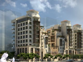 Lu'luat Al-Raha Courtyard Residences - Dubai, UAE Modern Houses by SPACES Architects Planners Engineers Modern