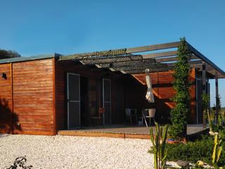Fertighaus von Discovercasa | Casas de Madeira & Modulares, Modern Holz Holznachbildung