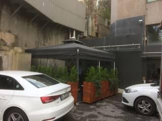 Akaydın şemsiye Office buildings Aluminium/Zinc Grey