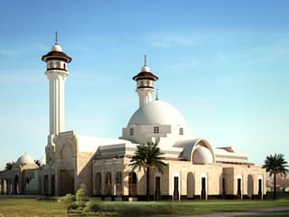 Dao Mosque - Dahran, KSA by SPACES Architects Planners Engineers Mediterranean