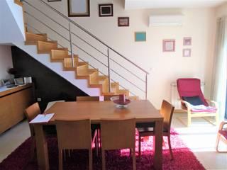 Sala de jantar Open Space:   por Medipleno Mediação Imobiliária