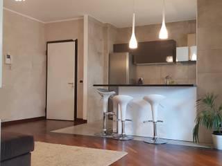 Minimalistische Wohnzimmer von Pamela Tranquilli Interior Designer Minimalistisch