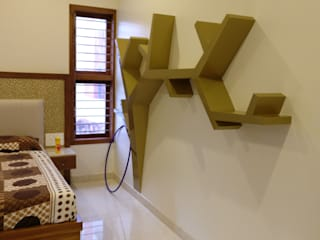 Bed Room:  Bedroom by Geometrixs Architects & Engineers