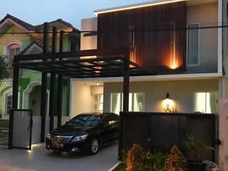 AD house: Rumah tinggal  oleh JSParchitect, Modern