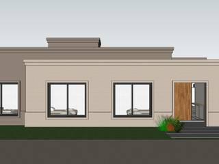 Fachada Principal: Casas unifamiliares de estilo  por PIC Arquitectura
