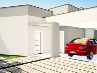 Casas minimalistas de Arantes Arquitetura Minimalista