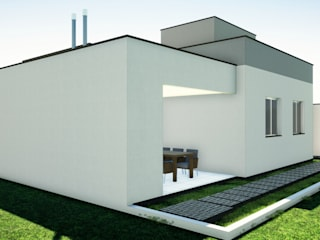 Arantes Arquitetura Будинки Цегла Білий