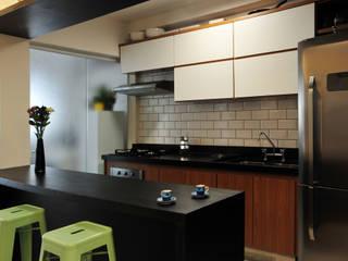 Apê do Casal: Cozinhas  por PPStudio - Espaços Criativos,Moderno