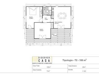 modern  von Discovercasa | Casas de Madeira & Modulares, Modern